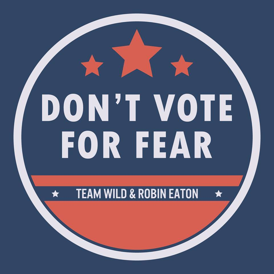Don't vote for fear